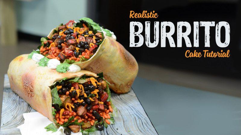 Realistic Burrito Cake