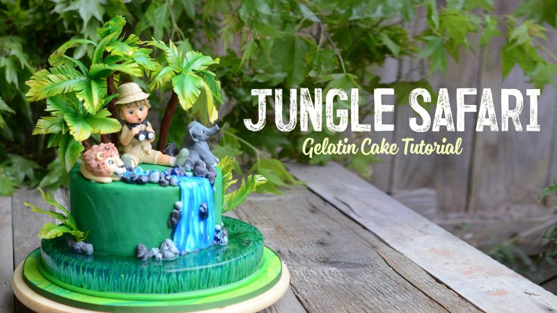 Jungle Safari Gelatin Cake