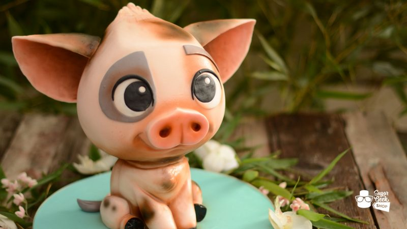 Intro to Cake Sculpting Pua Pig Tutorial