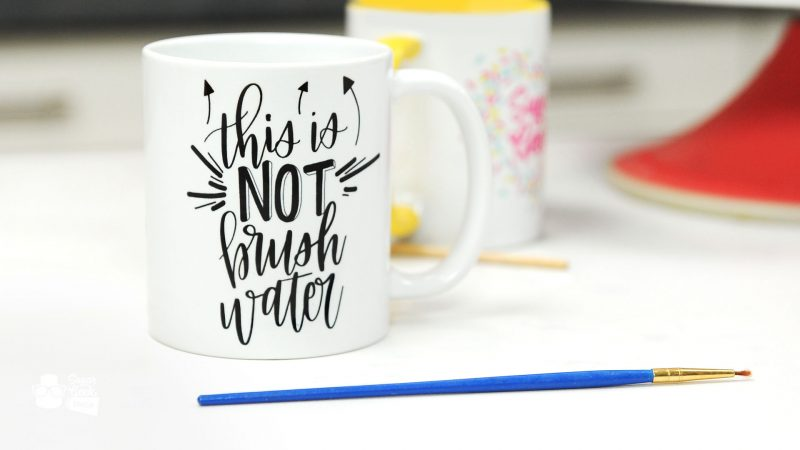 This is NOT Brush Water Mug