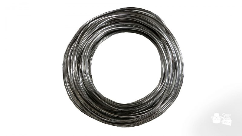 "1/8"" armature wire - 20 feet"