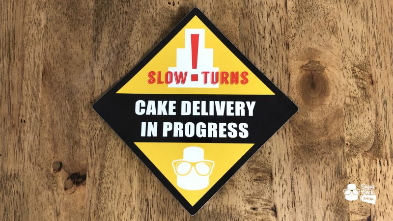 Cake Delivery Car Magnet
