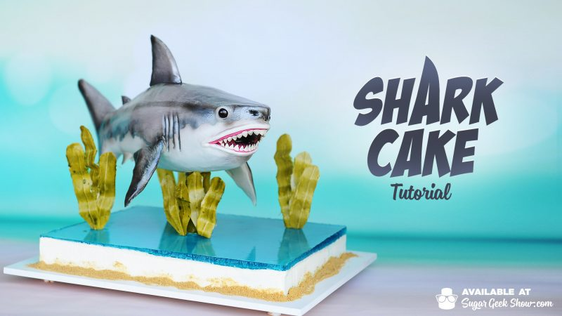 Shark Cake Tutorial