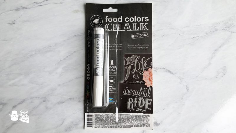 Edible Marker - Chalk White